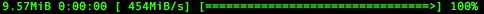 progressbar mysqldump